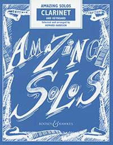 Amazing Solos Clarinet Harrison