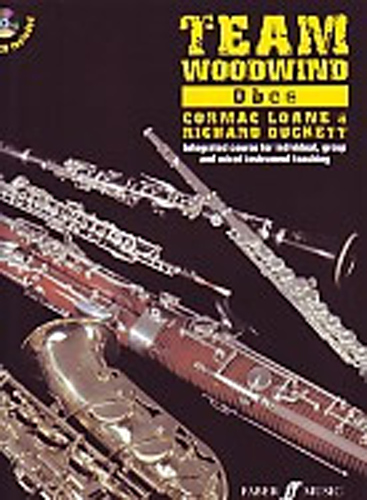 Team Woodwind Oboe Book & Cd