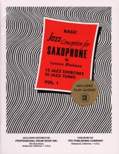 Niehaus Basic Jazz Conception 1 Saxophone Bk & Cd