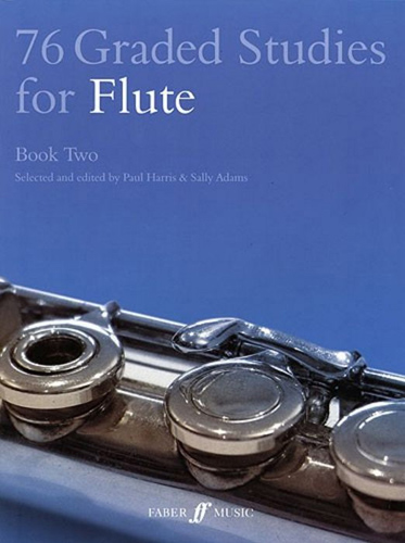 76 Graded Studies For Flute Book 2 Harris/Adams