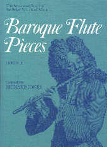 Baroque Flute Pieces Book 2 Jones