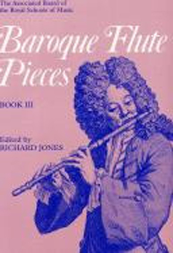Baroque Flute Pieces Book 3 Jones