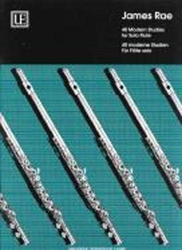 40 Modern Studies for Solo Flute J Rae