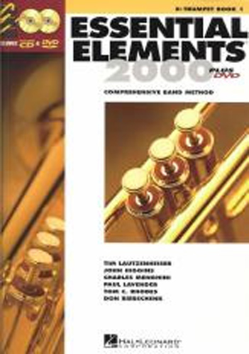 Essential Elements 2000 Book 1 Trumpet + Cd-Rom