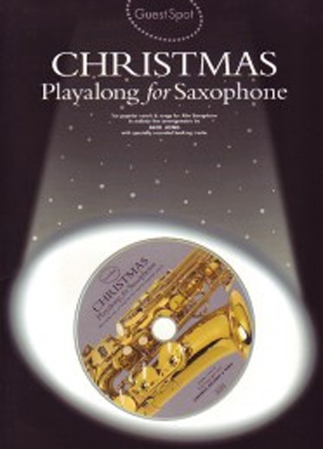 Guest Spot Christmas Alto Sax Book & Cd
