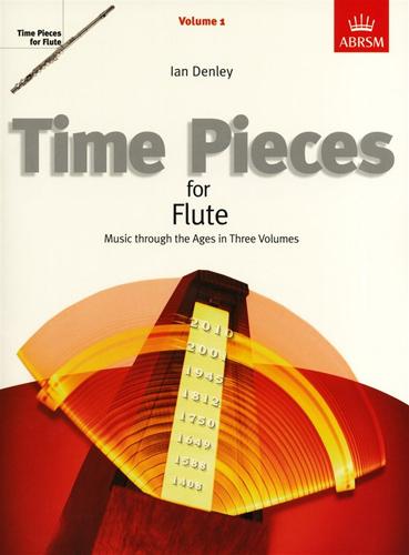 Time Pieces For Flute Vol 1 Denley