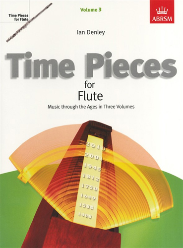 Time Pieces For Flute Vol 3 Denley
