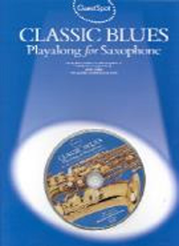 Guest Spot Classic Blues Alto Saxophone Book & Cd