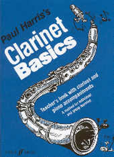 Clarinet Basics Harris Teachers Book & Accomp