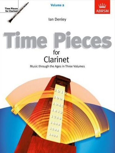 Time Pieces For Clarinet Vol 2 Denley