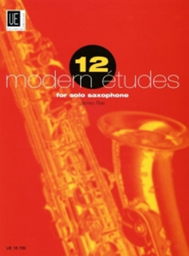 12 Modern Etudes Rae solo Sax