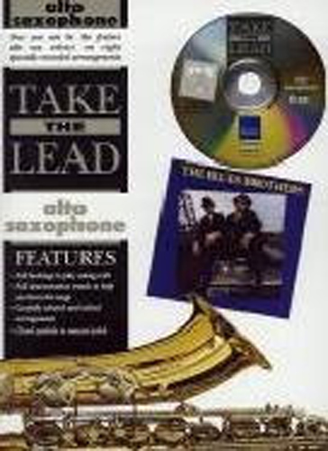 Take The Lead Blues Brothers Alto Sax Book & Cd
