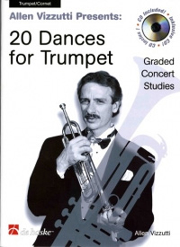 Vizzutti 20 Dances For Trumpet Book & Cd