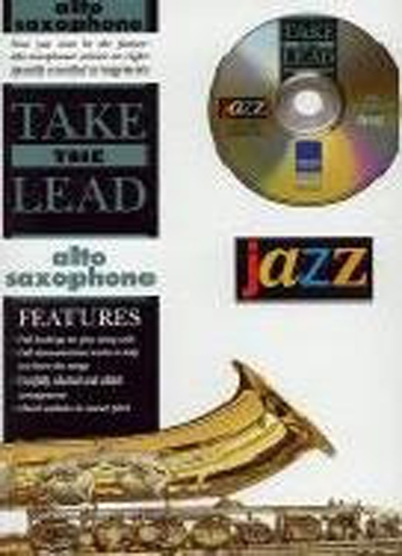 Take The Lead Jazz Alto Saxophone Book & Cd