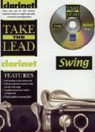 Take The Lead Swing Clarinet Book & Cd
