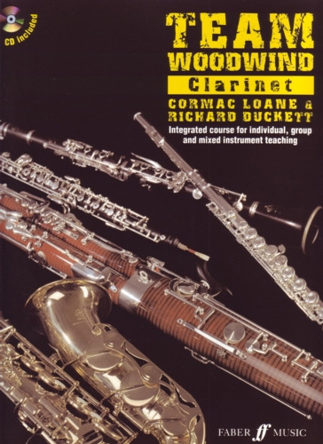Team Woodwind Clarinet Book & Cd