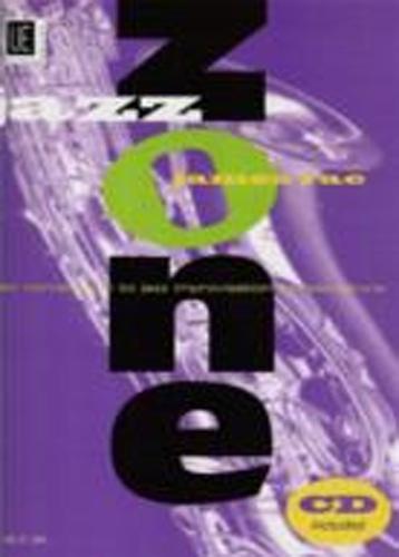 Jazz Zone Jazz Improvisation Saxophone Rae Bk&Cd