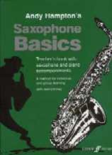 Saxophone Basics Hampton Alto Teachers book