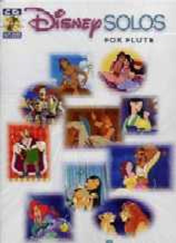 Disney Solos Flute Book & Cd