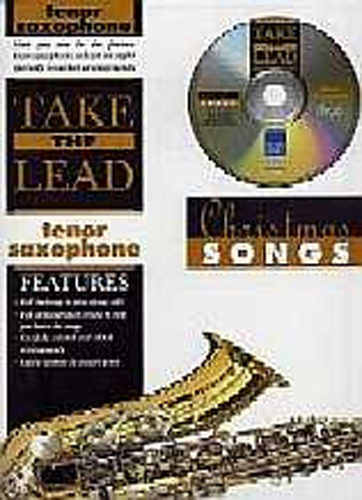 Take The Lead Christmas Songs Tenor Sax Book & Cd
