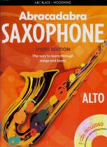 Abracadabra Saxophone Alto Pupils Bk & Cd 3rd Ed