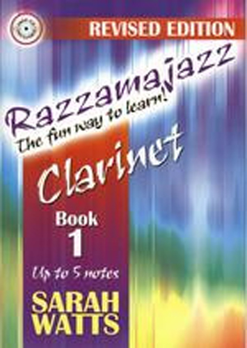 Razzamajazz Clarinet Book 1 Watts Book & Cd