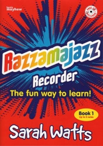 Razzamajazz Recorder Bk 1 Watts Rec & Pf Bk & Cd