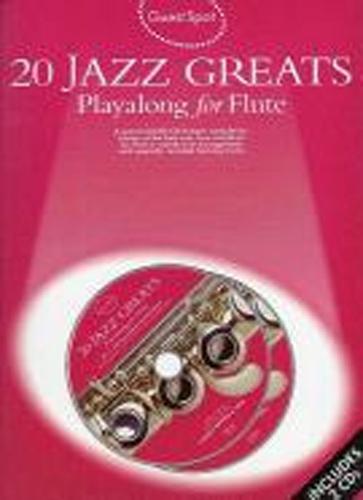 Guest Spot 20 Jazz Greats Flute Book & Cd