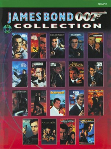 James Bond 007 Collection Trumpet Book & Cd