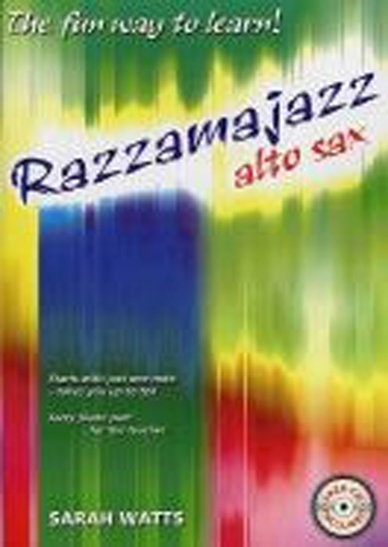 Razzamajazz Alto Saxophone 1 Watts Book & Cd
