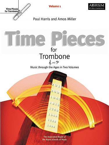 Time Pieces For Trombone Vol 1 Harris/Miller