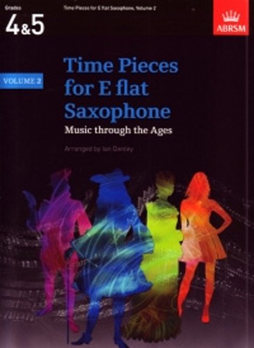 Time Pieces For Saxophone (Alto Eb) Vol 2 Denley