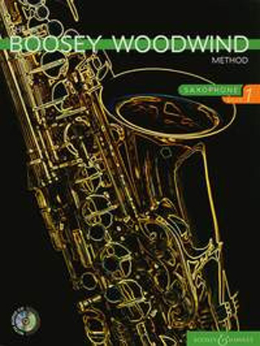 Boosey Woodwind Method Alto Sax Book 1 + Cd