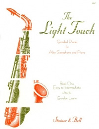 Lewin Light Touch Book 1 Alto Sax & Piano