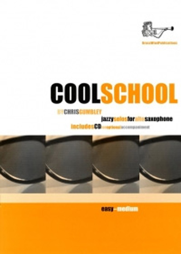 Coolschool Solos For Alto Sax Gumbley Book & Cd