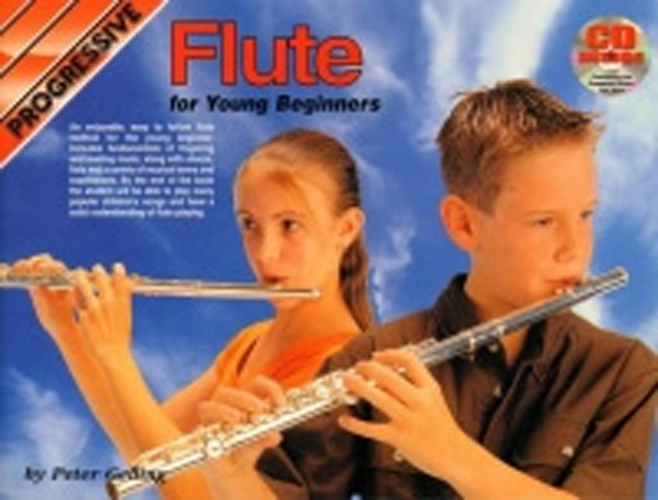 Progressive Flute For Young Beginners Book & Cd
