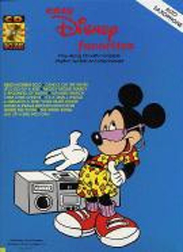Disney Easy Favourites Alto Sax Book & Cd
