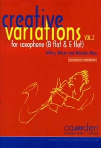 Creative Variations Vol 2 Sax/Pf Miles/Wilson + Cd