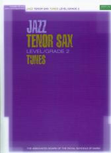 Jazz Tenor Sax Tunes Grade 2 Book & Cd Abrsm