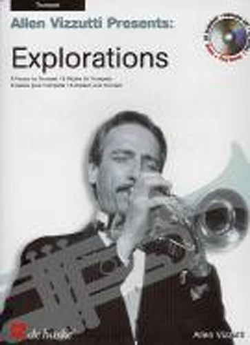 Vizzutti Explorations Trumpet Book & Cd