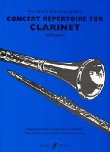 Concert Repertoire For Clarinet Harris & Johnson