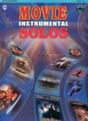 Movie Instrumental Solos Alto Sax Book & Cd