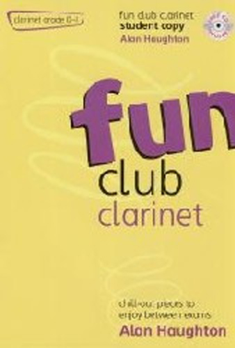 Fun Club Clarinet Grade 0-1 Student Book & Cd