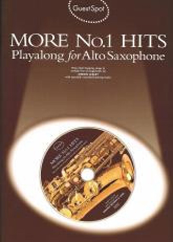 Guest Spot More No 1 Hits Alto Saxophone Book & Cd
