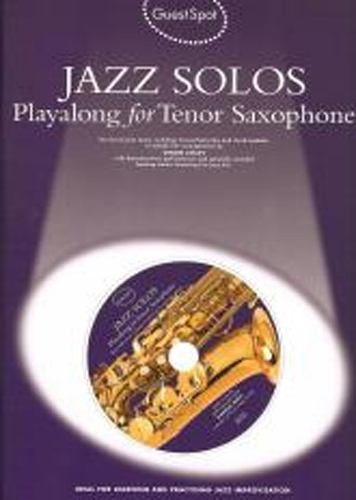 Guest Spot Jazz Solos Tenor Saxophone Book & Cd
