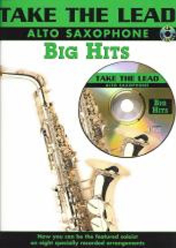 Take The Lead Big Hits Alto Saxophone Book & Cd