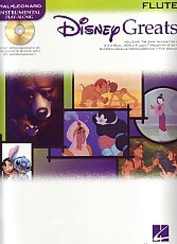 Disney Greats Flute Book & Cd