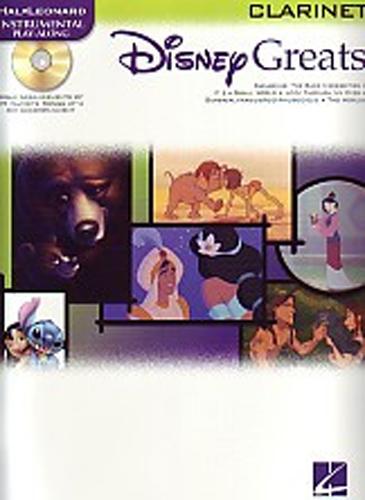 Disney Greats Clarinet Book & Cd
