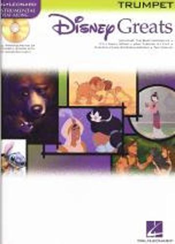 Disney Greats Trumpet Book & Cd