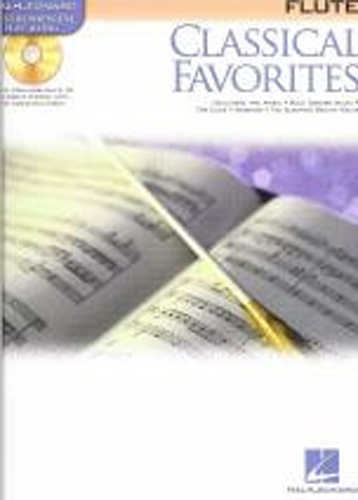 Classical Favourites Flute Book & Cd